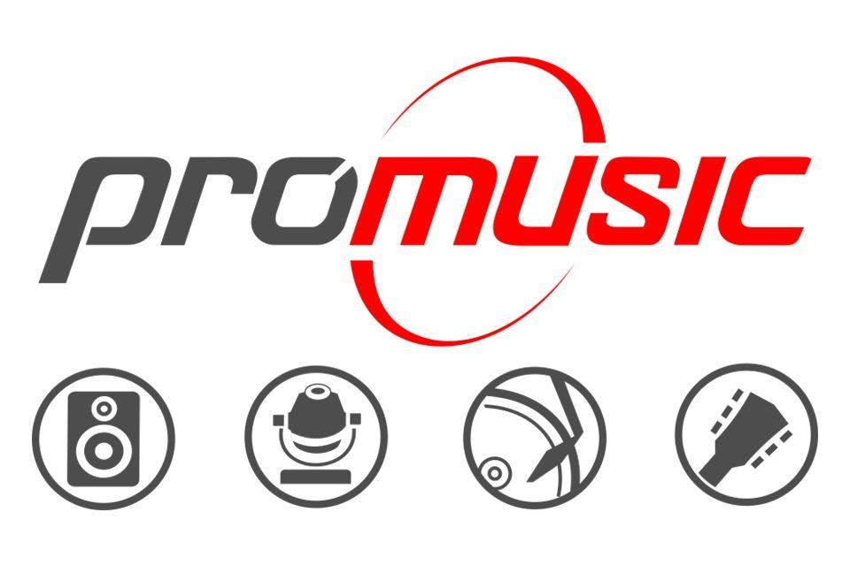 Company logo Promusic