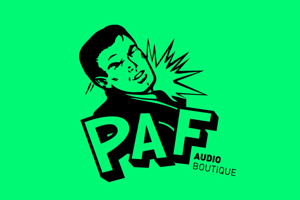 Company logo PAF Audio Boutique